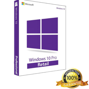 Microsoft Windows 10 Pro Retail, 32/64 bit, licenta electronica