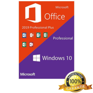 Microsoft Windows 10 Pro Retail + Microsoft Office 2019 Pro Plus, 32/64 bit, licenta electronica