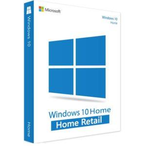 Microsoft Windows 10 Home Retail, 32/64 bit, licenta electronica