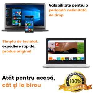Microsoft Windows 10 Pro OEM, 32/64 bit, licenta electronica
