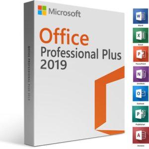 Pachet pentru doua PC-uri, Microsoft Office Pro Plus 2019, 32/64 bit, licenta electronica